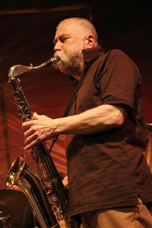 Peter Brotzmann fot. K.Penarski