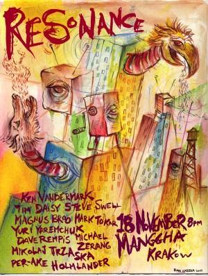Plakat Resonance, 2007