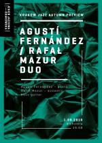 Krakow Jazz Autumn Preview – Agustí Fernández & Rafał Mazur Duo