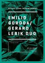Gerard Lebik / Emilio Gordoa Duo – Polska scena improwizowana
